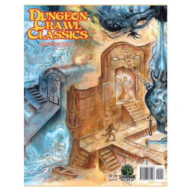 Goodman Games GMG5102T Dungeon Crawl Classics Judges Screen Game - image 1 of 1