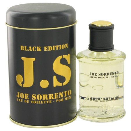 Joe Sorrento Black By Jeanne Arthes Eau De Toilette Spray 3 3 Oz