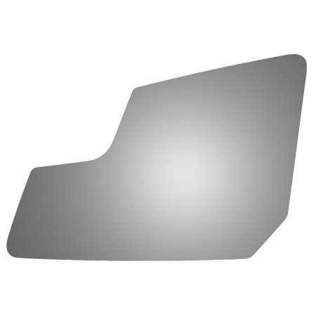 For 2010-2016 CHEVROLET TRAVERSE DRIVER SIDE LOWER FLAT REPLACEMENT MIRROR