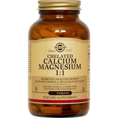 Calcium/Magnesium 1:1 Solgar 240 Tabs