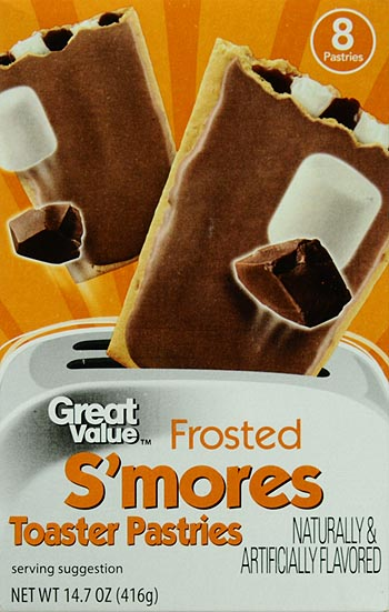 Great Value Frosted Toaster Pastries, S'mores, 8 Count by Wal-Mart Stores, Inc.