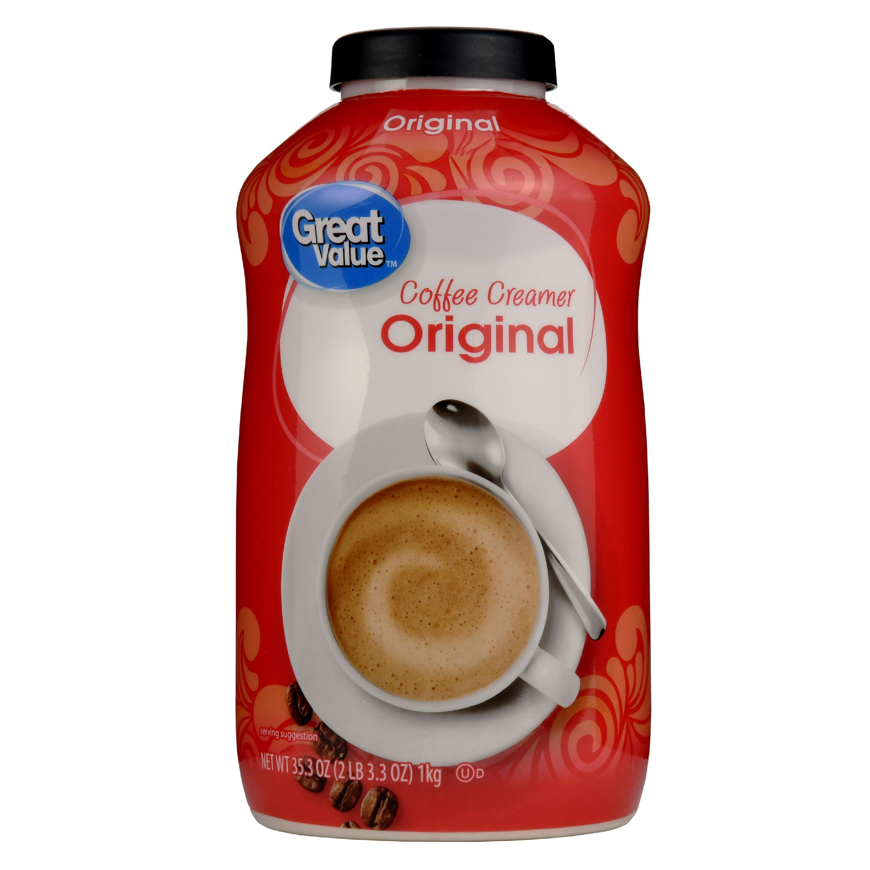Great Value Coffee Creamer, Original, 35.3 fl oz