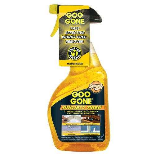 Goo Gone Project Prep Spray Gel, 24 oz