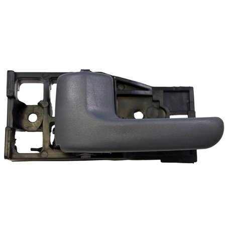 PT Auto Warehouse TO-2950F-RL - Inner Interior Inside Door Handle, Dark Gray - Access Cab, Driver Side Rear