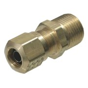 TRAMEC SLOAN 968-8NS Male Connector,Compression,Brass,150psi