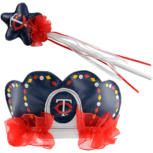 MLB Minnesota Twins Princess Tiara and Wand Set