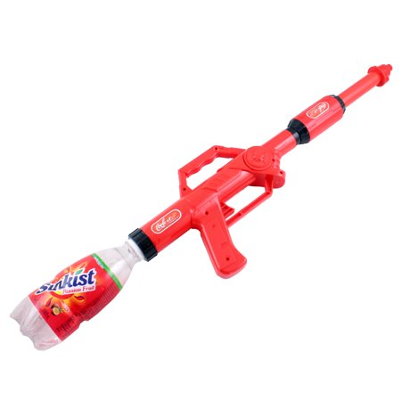 Kids Water Gun Pistol Toy Super Blaster Soaker Shooter Fits Screw Top Bottles Toy