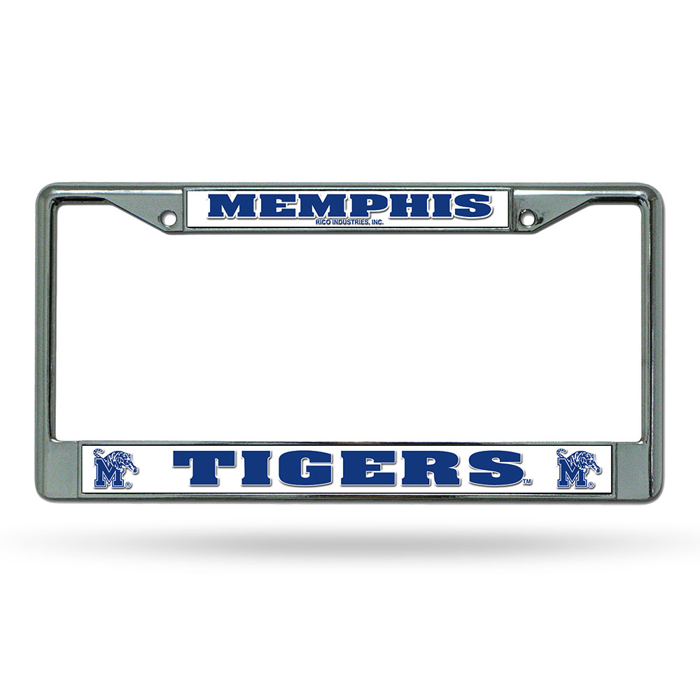 Memphis Tigers NCAA Chrome License Plate Frame