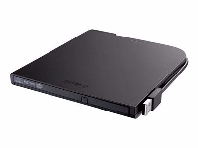 BUFFALO MediaStation Portable DVD Writer DVDRW (R DL)   DVD-RAM drive USB 2.0 by Buffalo