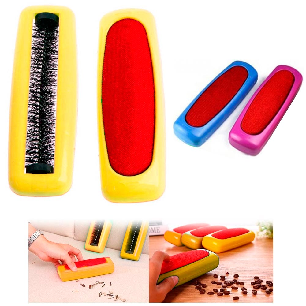 1 Table Sweeper Rolling Brush Crumbs Portable Cleaner Desk Broom Dust Vacuum by EBAY CHINA