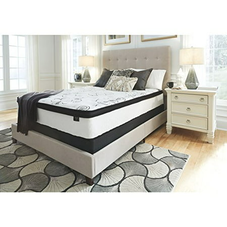 Mattress Safe - Signature Design by Ashley 12 in. Chime Hybrid Mattress