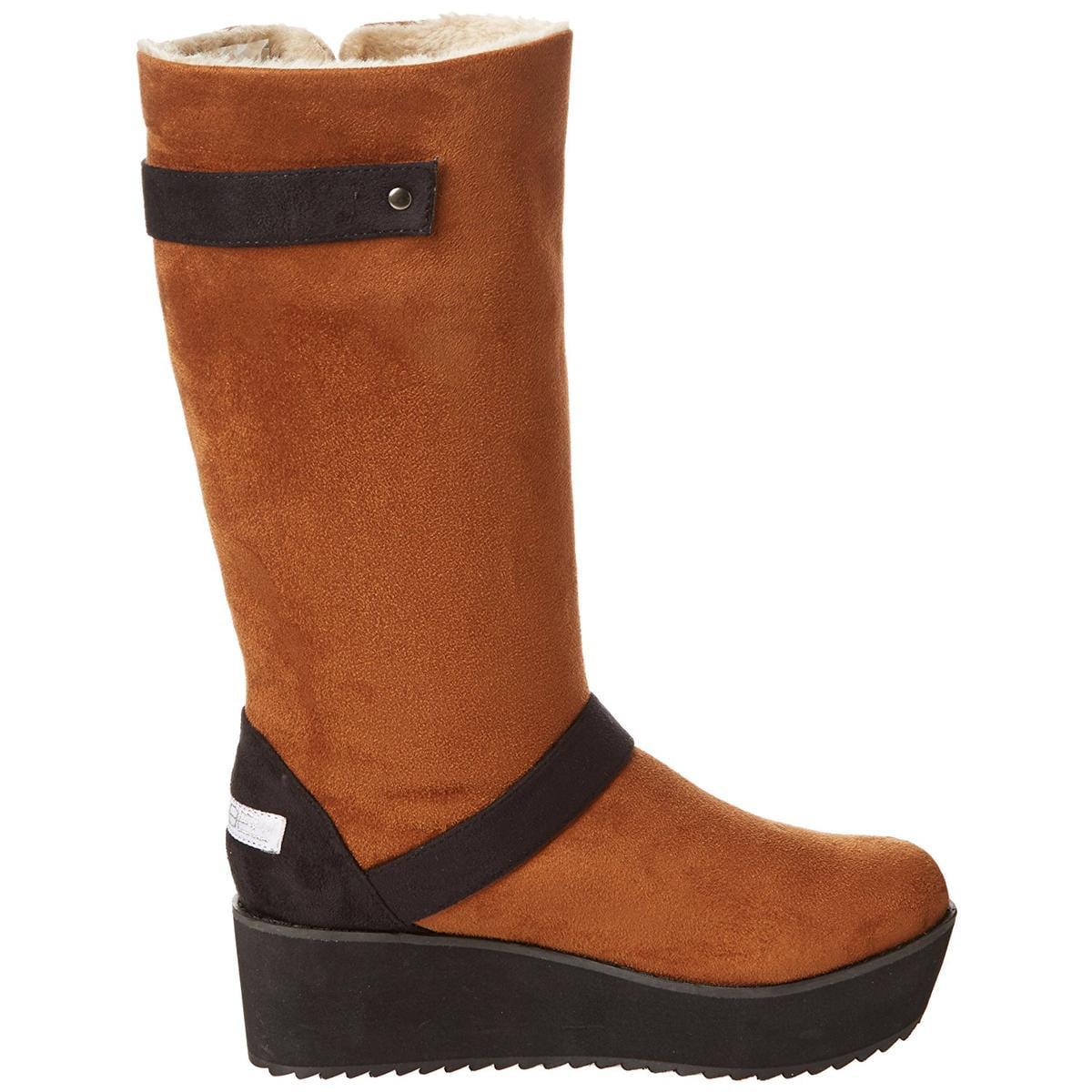 C Label Nata-16 Women's Chesnut Engineer Boot 8M