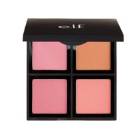 e.l.f. Cosmetics Powder Blush Palette, Four Blush Shades for Beautiful, Long-Lasting Pigment, Light, VIBRANT PIGMENT - This blush set allows you to create a beautifully.., By elf Cosmetics