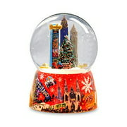 NYC Times Square Christmas Tree Water Globe Multi-Colored