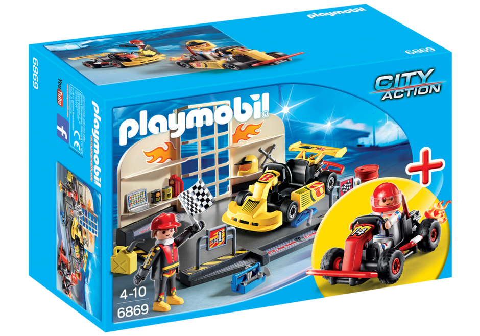 City Action Go Kart Garage Starter Set Walmart Com Walmart Com