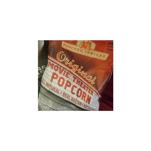 Popcorn Indiana Movie Theater Buttered Popcorn 5.5 Oz - (Pack of 12)