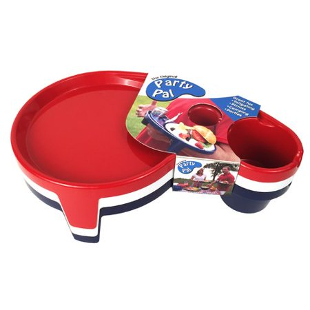 Tailor Made Products Party Pal Patriotic 3 Piece Plate Set