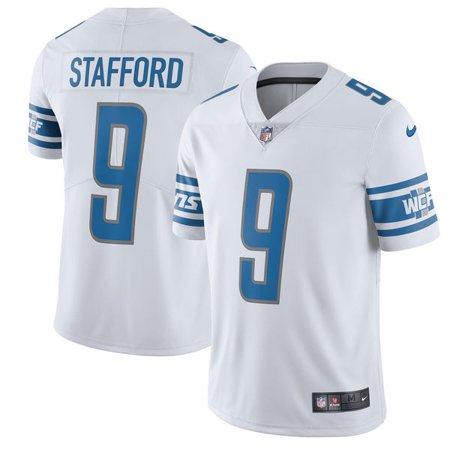 Men's Detroit Lions Matthew Stafford Nike White Vapor Untouchable Limited Player Jersey
