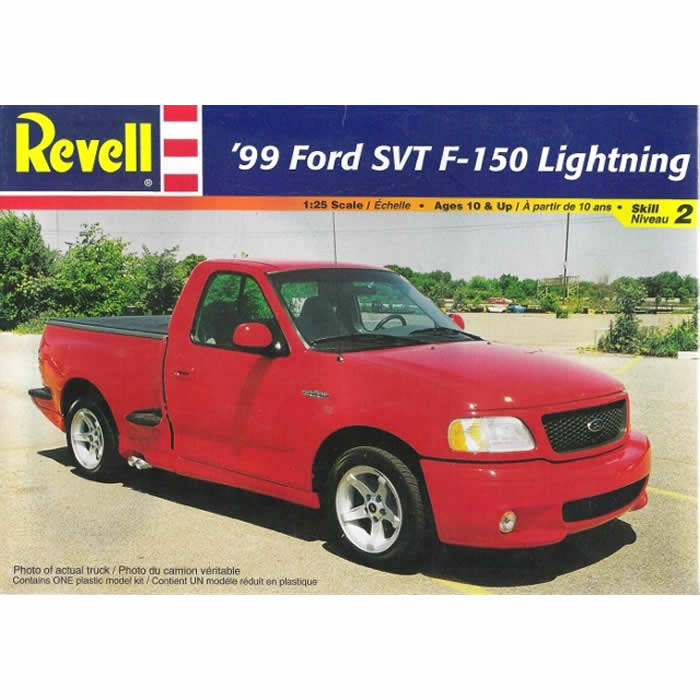 Ford Svt F Lightning Pickup   Scale Plastic Model Kit Revell