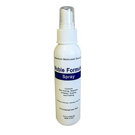 Noble Formula Zinc Spray   Pyrithione Zinc  Znp   4 Oz  120Ml   Especially Fo