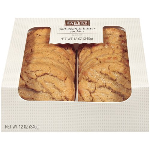 The Bakery At Walmart Soft Peanut Butter Cookies, 12 oz