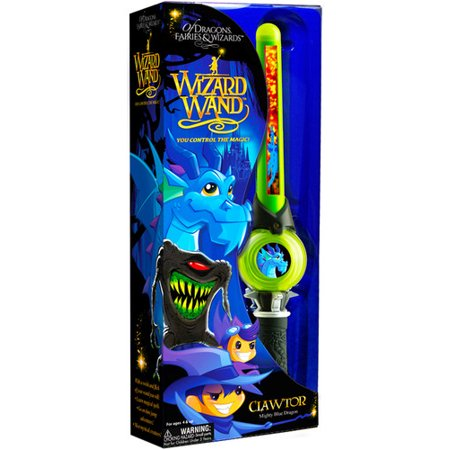 Mighty Wizard Wand: Of Dragons, Fairies, and Wizards Clawtor Hand HeldGreen