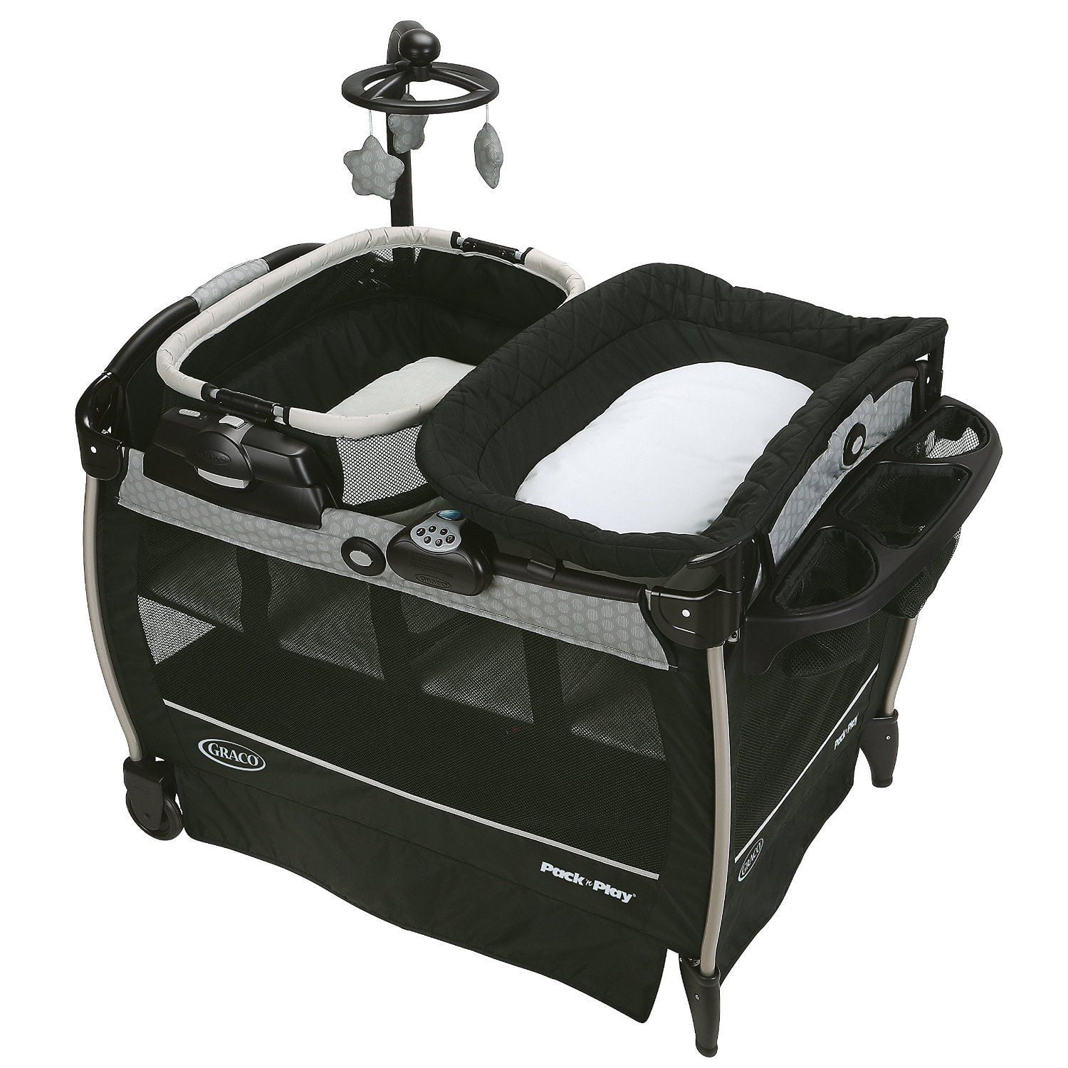 Graco Pack 'n Play Neaby Napper Play Pen with Rocker, Davis by Graco