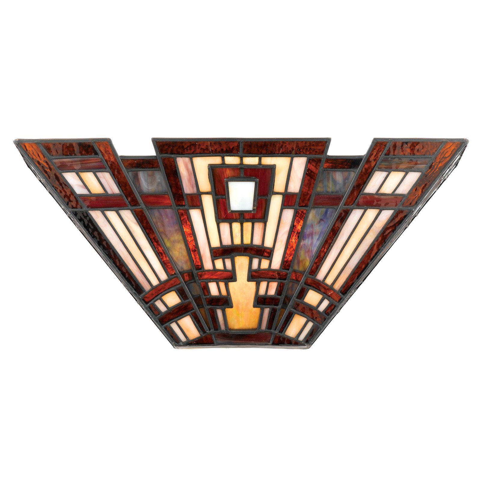 Quoizel Classic Craftsman TFCC8802 Tiffany Wall Sconce by Quoizel