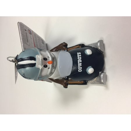 NFL Snowman Smores Snowmobile Tree Ornament Choose Your Team