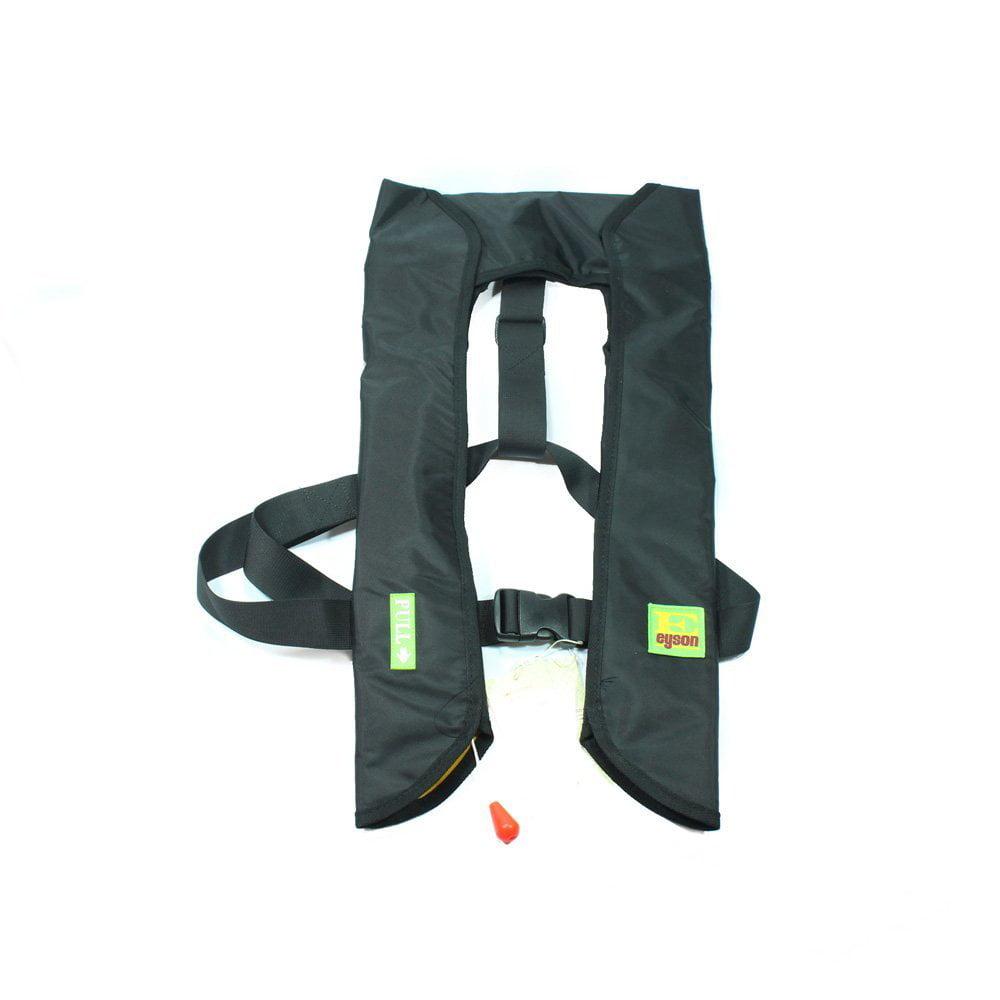 Lifesaving Pro Premium 33G Manual Inflatable PFD Survival Buoyancy Life Jacket Vest Green Camo by Lifesaving Pro