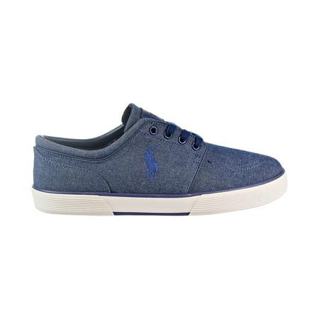 Polo Ralph Lauren Faxon Low Men's Shoes Indigo Blue/Chambray 816663799-002 ()