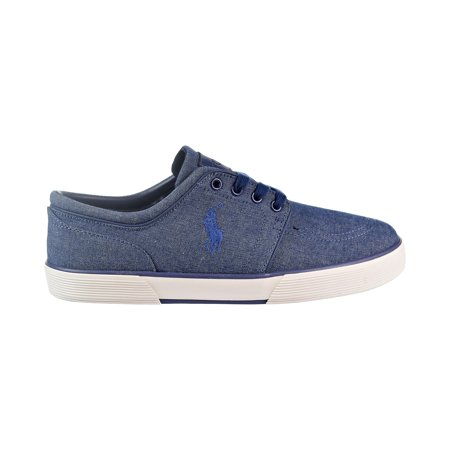 Polo Ralph Lauren Faxon Low Men's Shoes Indigo Blue/Chambray
