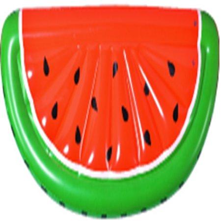 Inflatable Watermelon Slice Pool Lounge Pool Float, 70.5-Inch - Watermelon Pool Float