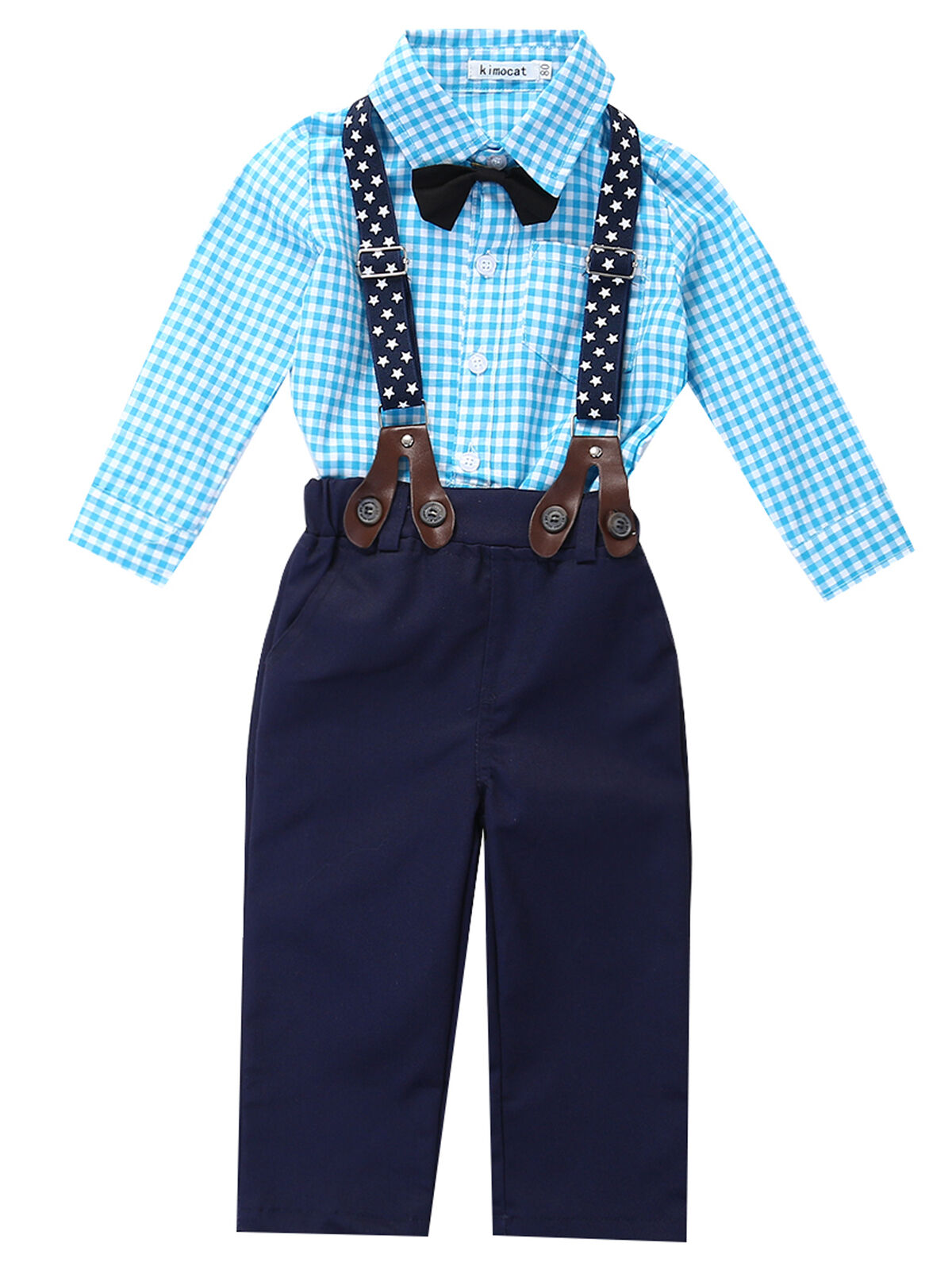 0-3 Years,SO-buts Newborn Kid Toddler Baby Boys Plaid Print Hooded Tops Sweatshirt Pants Trousers Autumn Winter Tracksuit Outifts Set