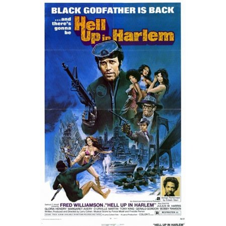 Toddlers Movie Harlem (Hell Up in Harlem Movie Poster (11 x)