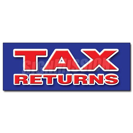 12  Tax Returns Decal Sticker File Income Taxes Accountant Irs Fast Refunds W2