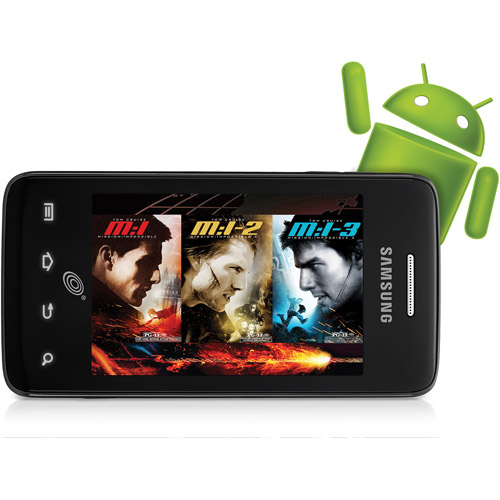 Straight Talk Samsung Galaxy Precedent Android Prepaid Phone with Mission Impossible Movies 1, 2 & 3 Preloaded
