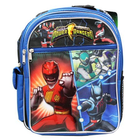 Letro Legend Bag - Power Rangers Super Legends Blue Colored Small Size Backpack (12in)