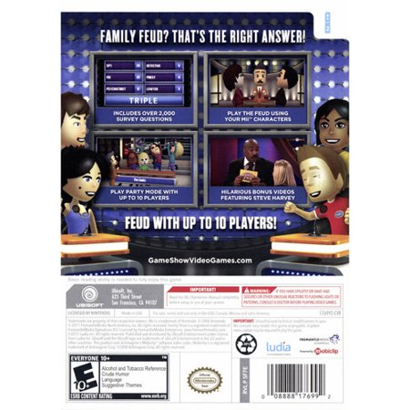 Family Feud 2012 (Wii)