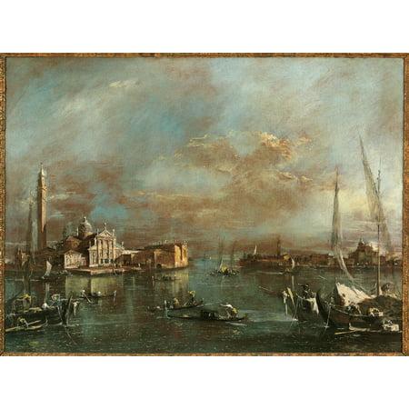 Bacino Di San Marco With San Giorgio And The Giudecca Canvas Art ...
