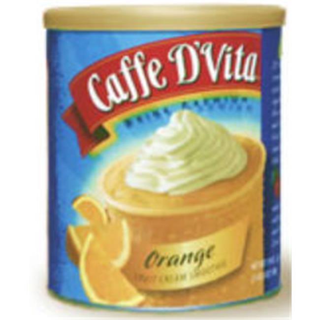 Caffe DVita F-DV-1C-06-ORAN-SM Orange Fruit Cream Smoothie 6 1lb canisters