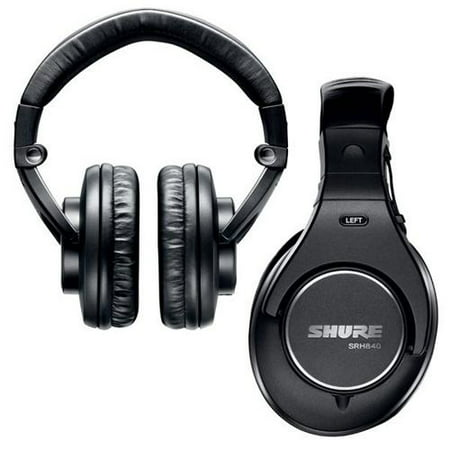 Shure SRH840 Professional Monitoring Headphones ()
