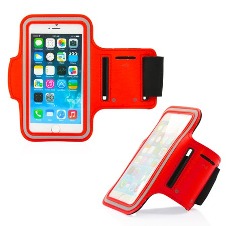 GEARONIC Premium Full Running Jogging Sports Gym Armband Case Cover Holder for Apple iPhone 6