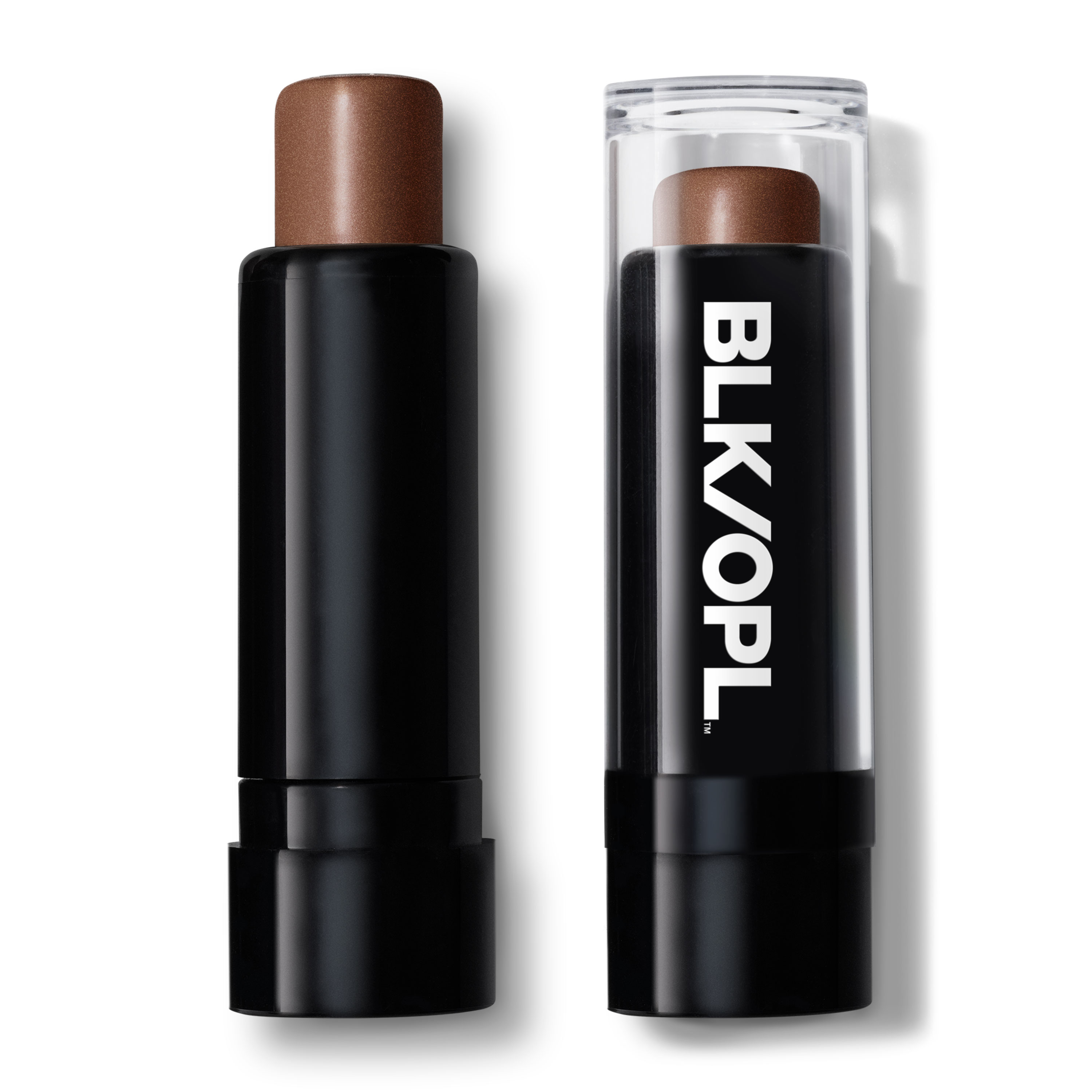 BLK/OPL True Color Illuminating Stick, Highlighter with Vitamin C & E, Nude Glow