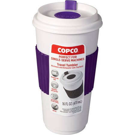 Copco 16 Ounce To Go Purple and White Travel