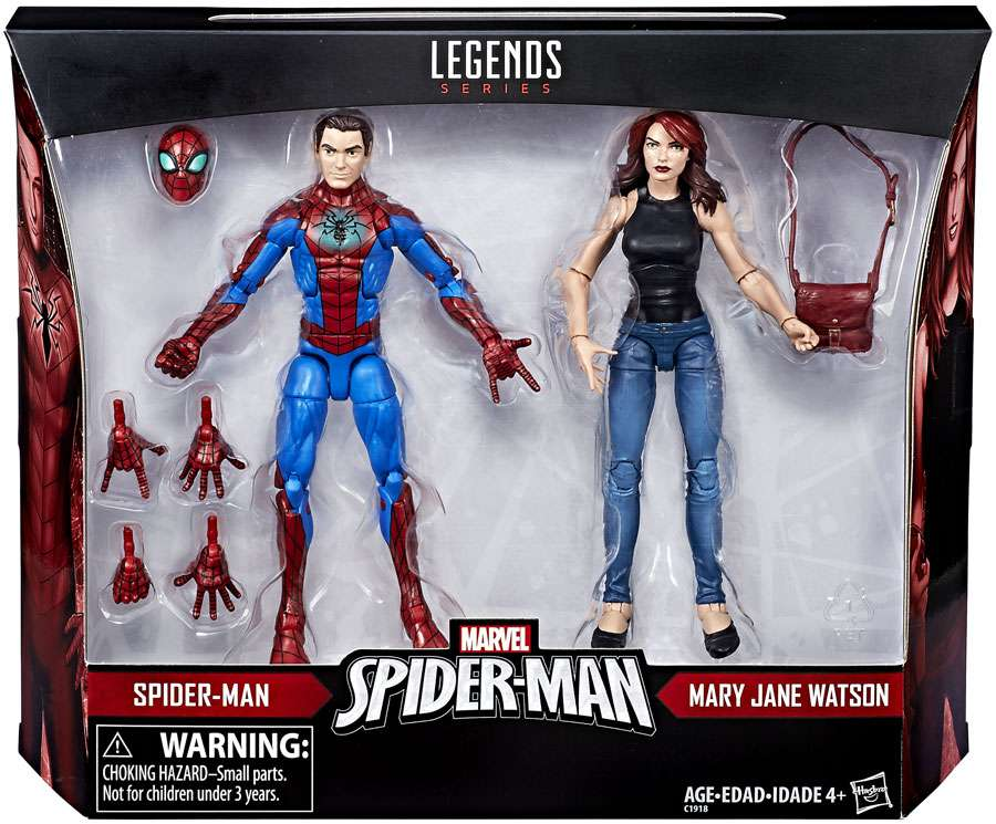 Marvel Legends Spider-Man & Mary Jane Watson Action Figure 2-Pack by