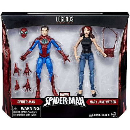 Marvel Legends Spider-Man & Mary Jane Watson Action Figure 2-Pack