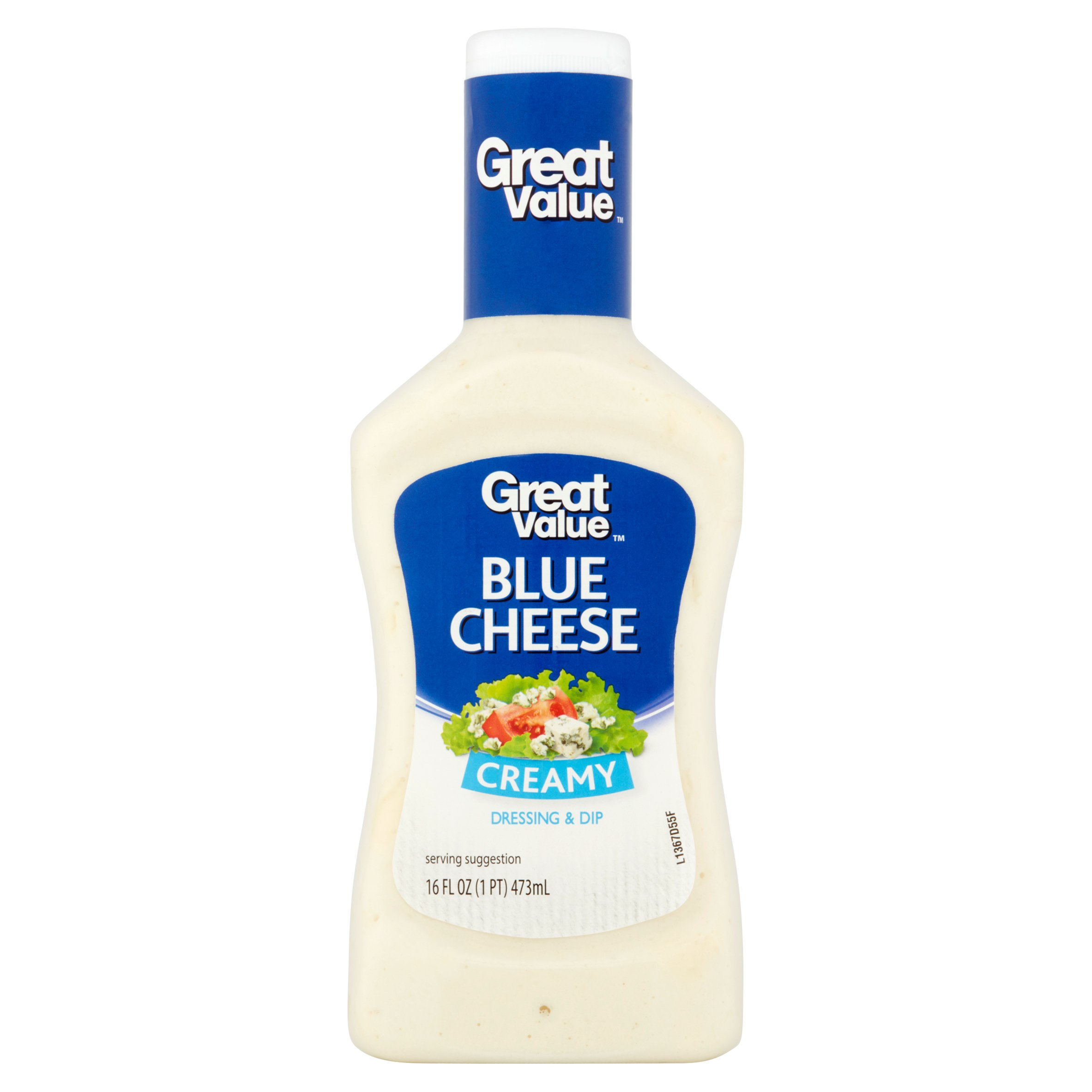 Great Value Creamy Blue Cheese Dressing & Dip, 16 fl oz by Wal-Mart Stores, Inc.