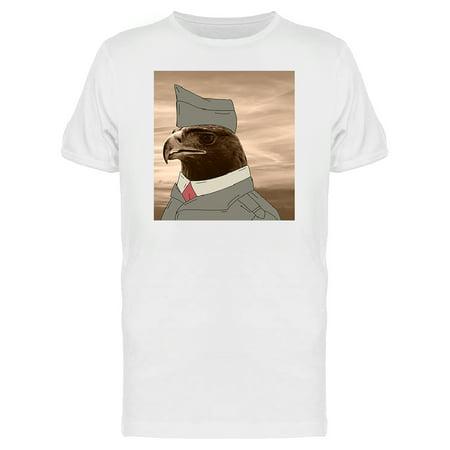 39834839 Teeblox - Old Sad Looking Veteran Eagle Men's T-shirt - Walmart.com