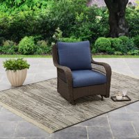 Better Homes and Gardens Colebrook Outdoor Glider Chair Buy w/ Pillows and Save